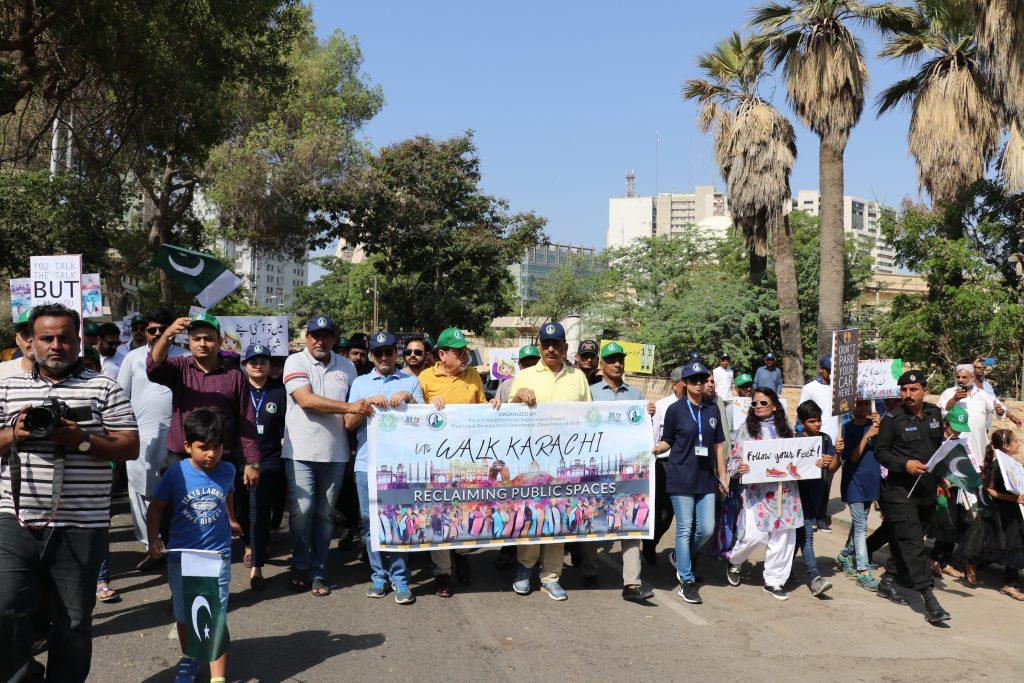 آئیے کراچی کے لئے واک کریں!