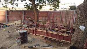 New Cafeteria being built in Arts Council Karachi