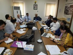 World Bank Mission Team with Dr. Syed Saif ur Rahman PAS, Karachi