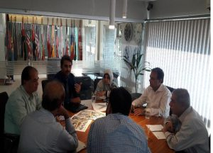 Meeting with TEB KMC , PIU and ECIL regarding Intersection and signal Design