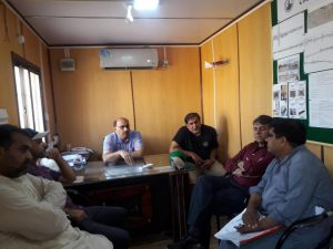 Project Director PIU KNIP Visit to Korangi Project