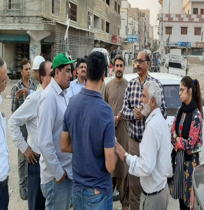 Project Director PIU KNIP Visit Malir Project