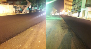 Read more about the article Asphaltic Wearing coarse layer at Deen Mohammad wafai Road from Sindh Secretariat to Arts Council Chowrangi