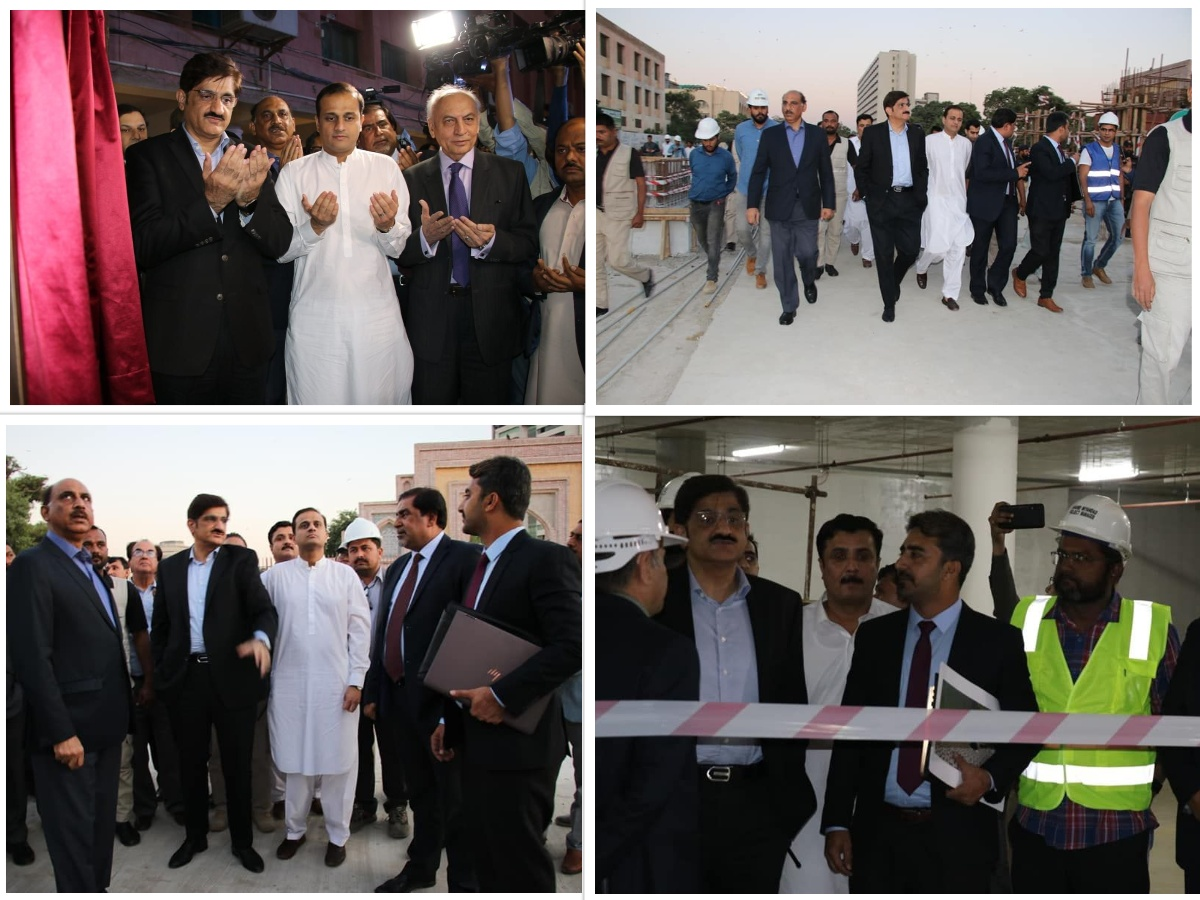 Inaugurating the Revitalization of Public Spaces in Arts Council of Pakistan
