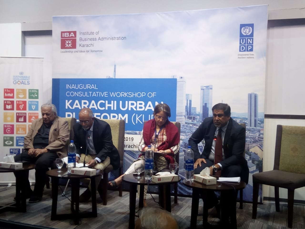 "KNIP participated in Karachi Urban Platform Conference with the KNIP Project Director Mr. Nazeer Essani as a panelist on the session ""Aiming to enhance city livability""."