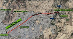 Rehabilitation and reconstruction of Khokhrapar Road in Malir