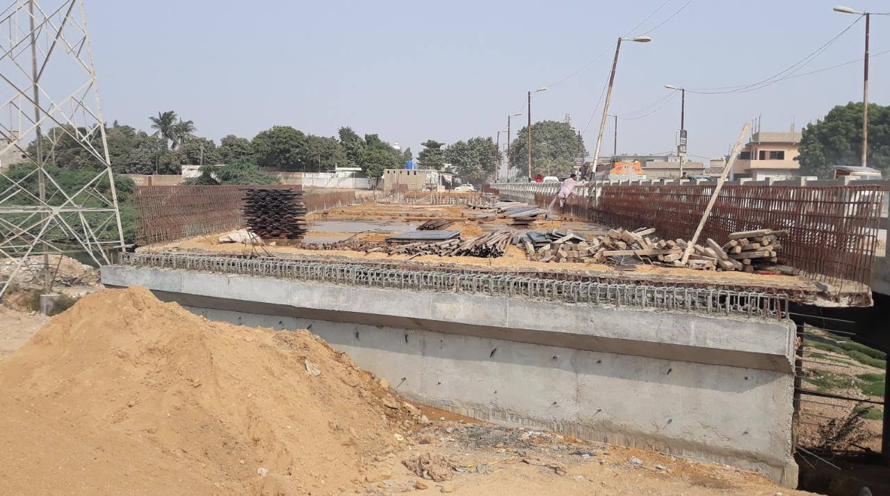 Construction of Bridge at Thaddo Nallah