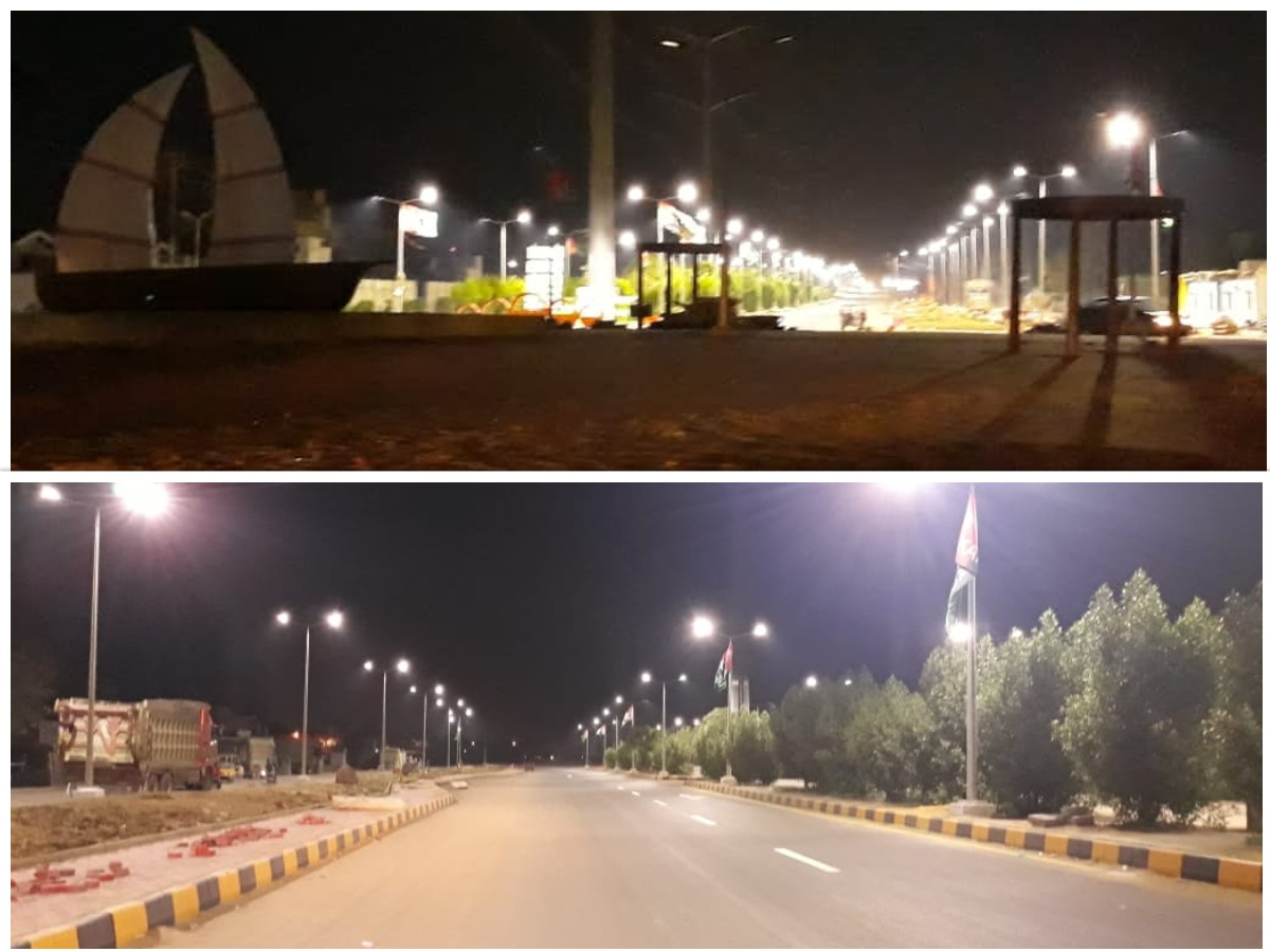 Rehabilitation and Reconstruction of Road 9000 from Coast Guard Chowrangi to Ibrahim Hyderi Village Korangi.