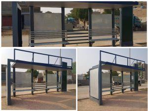 Read more about the article Newly constructed bus stops